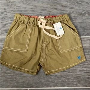 Blue Rooster NY Boys Sean Short Olive 12-18m NWT